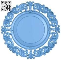 Picture frame or mirror A005553 download free stl files 3d model for CNC wood carving