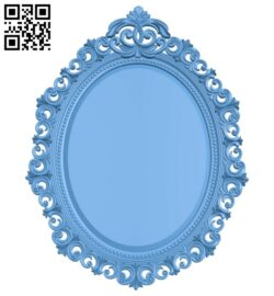 Picture frame or mirror A005555 download free stl files 3d model for CNC wood carving
