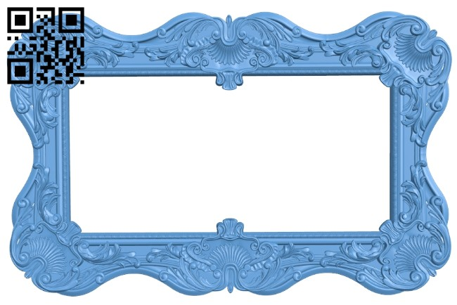 Picture frames A005496 download free stl files 3d model for CNC wood carving