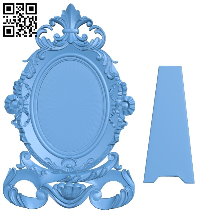 Picture frames A005497 download free stl files 3d model for CNC wood carving