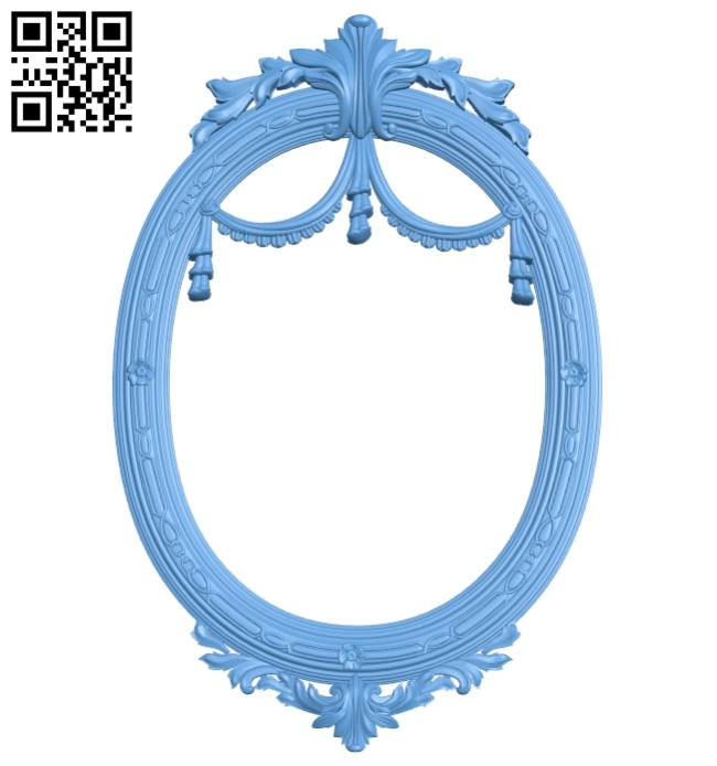 Picture frames A005498 download free stl files 3d model for CNC wood carving