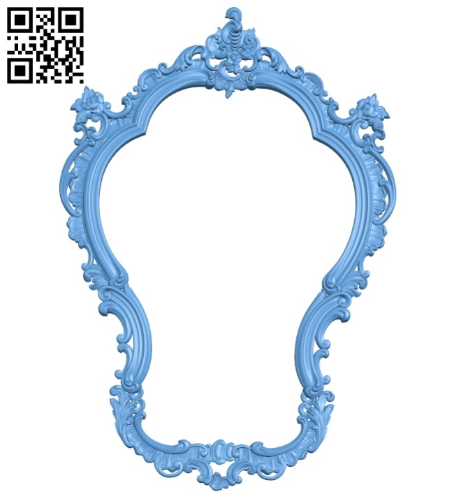 Picture frames A005499 download free stl files 3d model for CNC wood carving