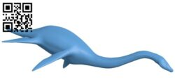 Plesiosaur – dinosaurs B008532 file stl free download 3D Model for CNC and 3d printer