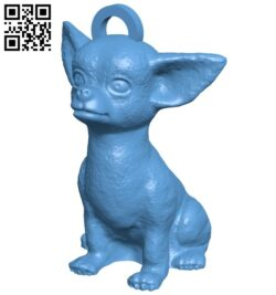 Ring Chihuahua B008512 file stl free download 3D Model for CNC and 3d printer