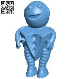 Robot B008456 file stl free download 3D Model for CNC and 3d printer