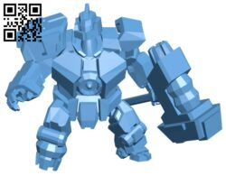 Robot Sion B008393 file stl free download 3D Model for CNC and 3d printer
