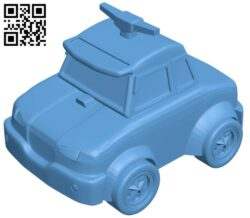 Robot car B008454 file stl free download 3D Model for CNC and 3d printer