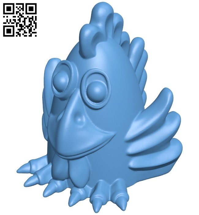 Rooster petuh B008416 file stl free download 3D Model for CNC and 3d printer