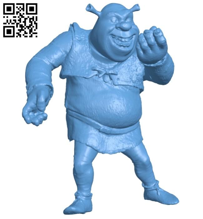 Shrek films B008389 file stl free download 3D Model for CNC and 3d printer
