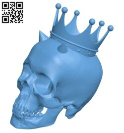 Skull crown B008502 file stl free download 3D Model for CNC and 3d printer