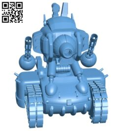 Slug tank B008462 file stl free download 3D Model for CNC and 3d printer