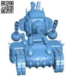 Slug tank B008462 file stl free download 3D Model for CNC and 3d printer