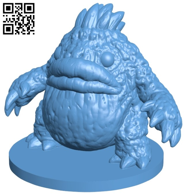 Spike - pokemon B008397 file stl free download 3D Model for CNC and 3d printer