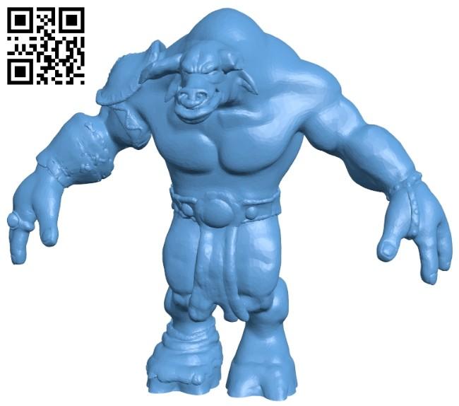 Tauren B008453 file stl free download 3D Model for CNC and 3d printer