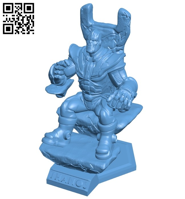 Thanos B008413 file stl free download 3D Model for CNC and 3d printer