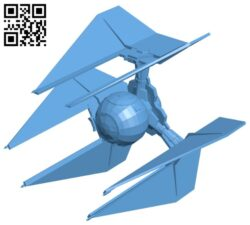 Tie Defender – ship B008497 file stl free download 3D Model for CNC and 3d printer