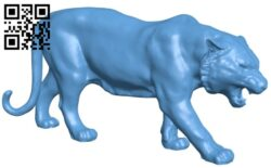 Tiger B008431 file stl free download 3D Model for CNC and 3d printer