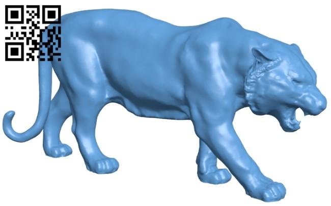 Tiger B008431 file stl free download 3D Model for CNC and 3d printer