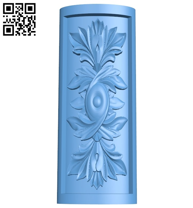 Top of the column A005475 download free stl files 3d model for CNC wood carving
