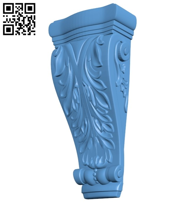 Top of the column A005479 download free stl files 3d model for CNC wood carving
