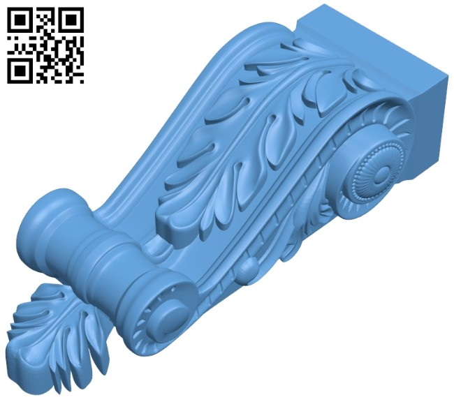 Top of the column A005482 download free stl files 3d model for CNC wood carving