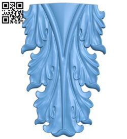 Top of the column A005568 download free stl files 3d model for CNC wood carving