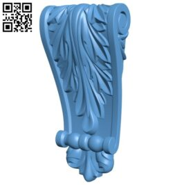Top of the column A005569 download free stl files 3d model for CNC wood carving