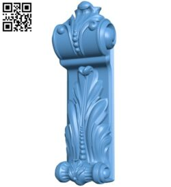 Top of the column A005570 download free stl files 3d model for CNC wood carving