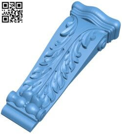 Top of the column A005571 download free stl files 3d model for CNC wood carving