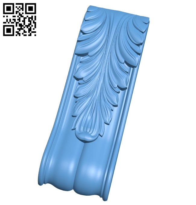 Top of the column A005612 download free stl files 3d model for CNC wood carving