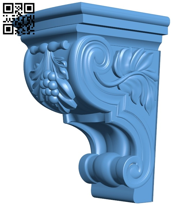 Top of the column A005616 download free stl files 3d model for CNC wood carving