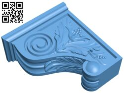Top of the column A005619 download free stl files 3d model for CNC wood carving