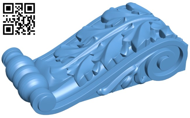 Top of the column A005620 download free stl files 3d model for CNC wood carving