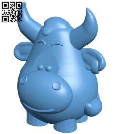 Toy bull B008465 file stl free download 3D Model for CNC and 3d printer