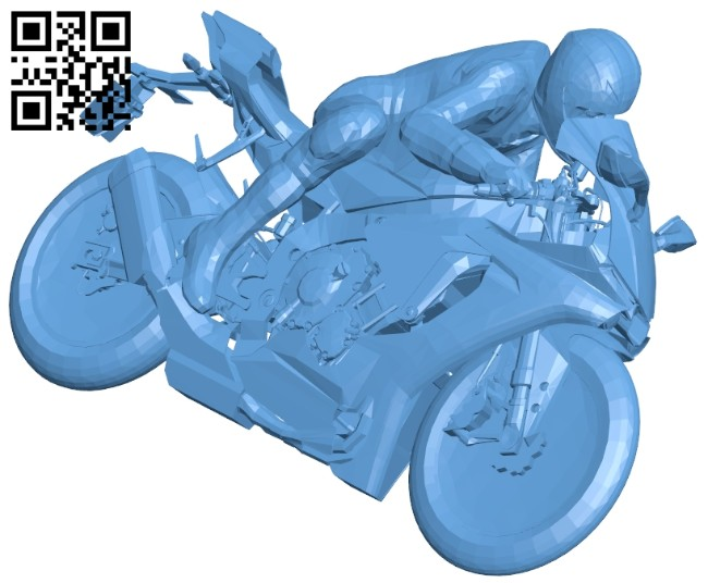 Turning racer B008478 file stl free download 3D Model for CNC and 3d printer