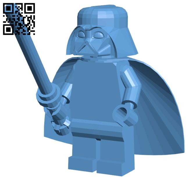 Vader B008351 file stl free download 3D Model for CNC and 3d printer
