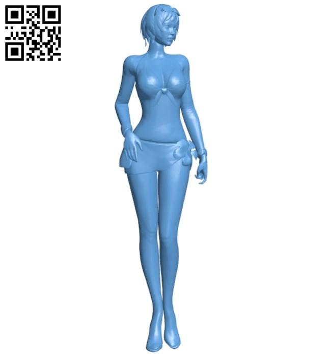 Women B008430 file stl free download 3D Model for CNC and 3d printer