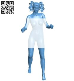 Women B008554 file stl free download 3D Model for CNC and 3d printer