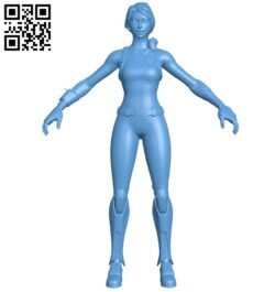 Women bolt B008559 file stl free download 3D Model for CNC and 3d printer