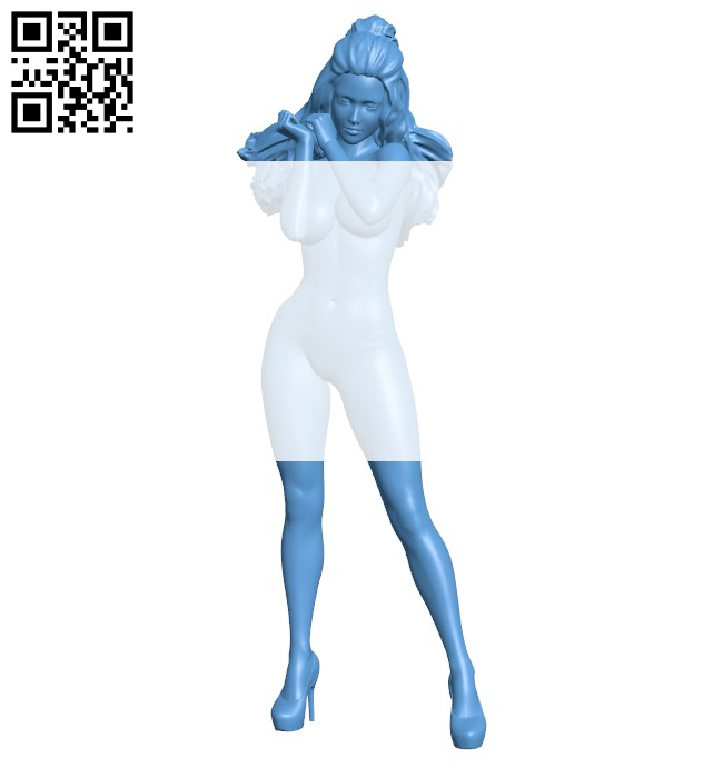 Women wind B008417 file stl free download 3D Model for CNC and 3d printer