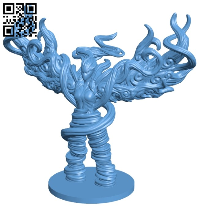 Air Elemental B008777 file obj free download 3D Model for CNC and 3d printer