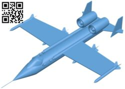 Aircraft A10 thunderbolt – mk2 B008774 file obj free download 3D Model for CNC and 3d printer