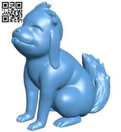 Akamaru dog – Naruto B008780 file obj free download 3D Model for CNC and 3d printer