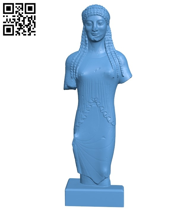 Ancient statuette scan B008864 file obj free download 3D Model for CNC and 3d printer