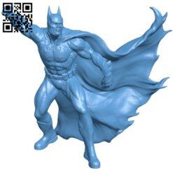Batman on a roof – superhero B008749 file obj free download 3D Model for CNC and 3d printer