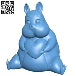 Boh – Spirited Away B008733 file obj free download 3D Model for CNC and 3d printer