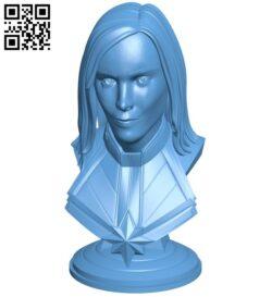 Captain America bust – superhero B008727 file obj free download 3D Model for CNC and 3d printer