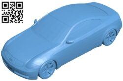 Car infiniti – G35 B008674 file stl free download 3D Model for CNC and 3d printer