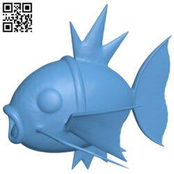 Carp – fish B008642 file stl free download 3D Model for CNC and 3d printer