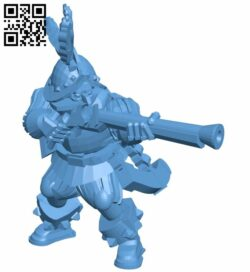 Conquistador musketeer B008854 file obj free download 3D Model for CNC and 3d printer